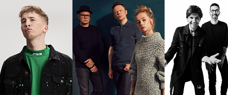 House of Entertainment pakt zwaar uit in Studio 100 Pop-Up Theater en voegt Clouseau, Hooverphonic en Snelle toe aan line-up van pop-up concerten